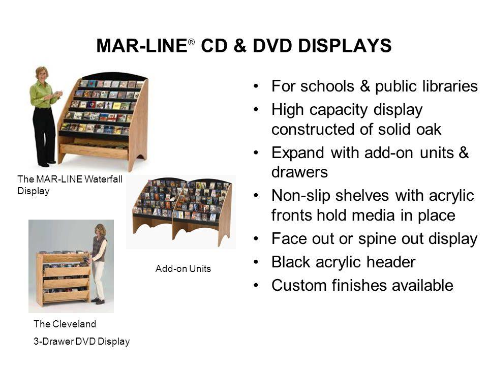 MAR-LINE® CD & DVD DISPLAYS