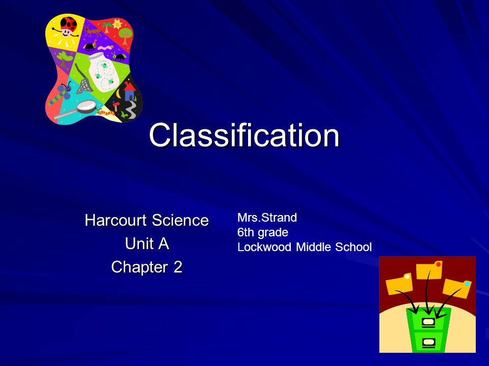 Harcourt Science Unit A Chapter 2