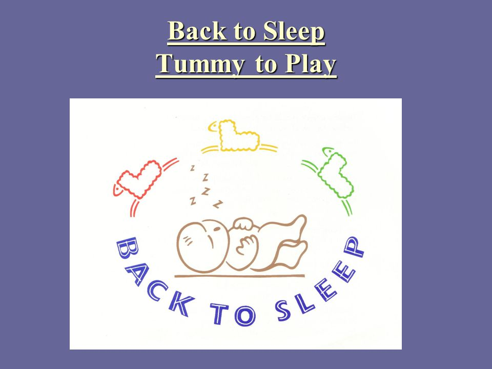 Back to Sleep Tummy to Play