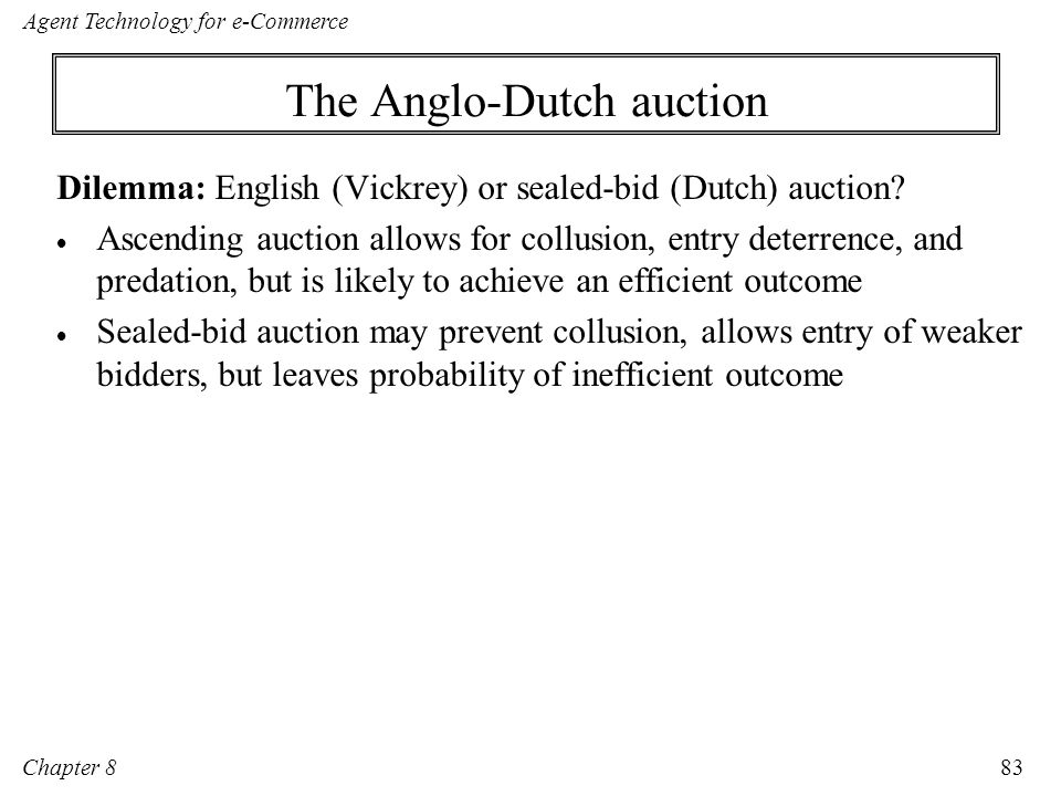 The Anglo-Dutch auction