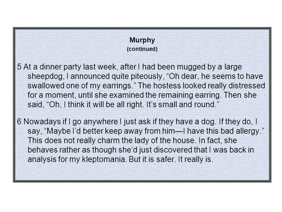 Murphy (continued)
