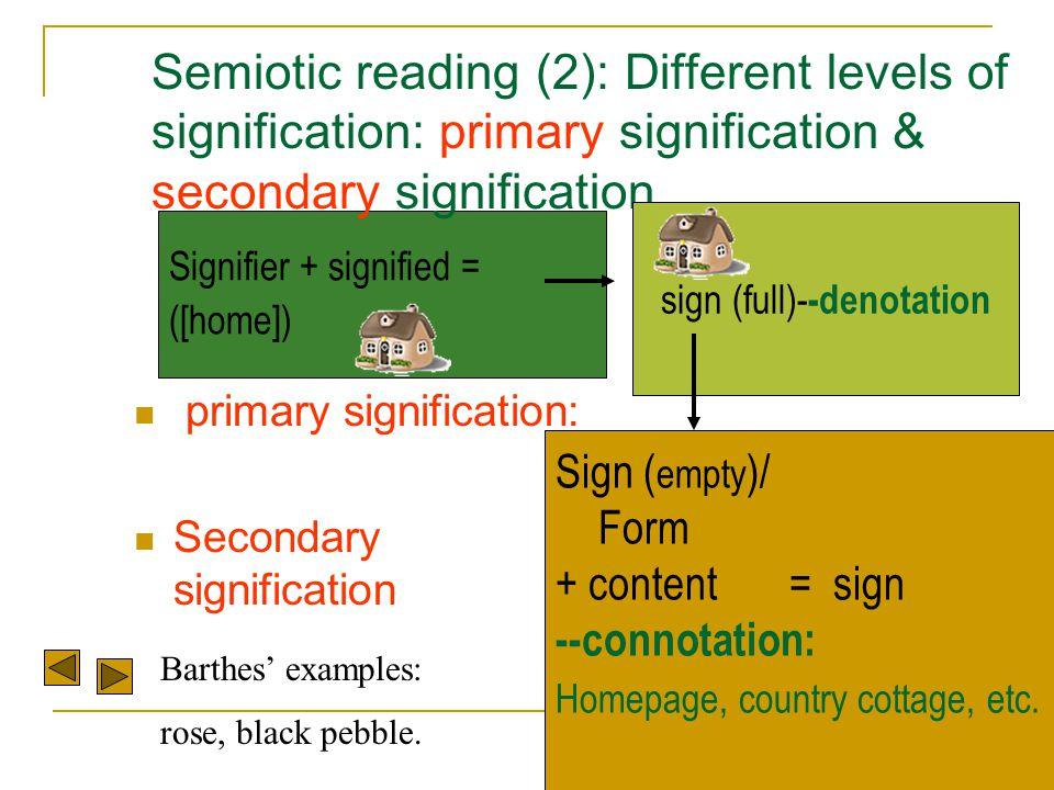 sign (full)--denotation