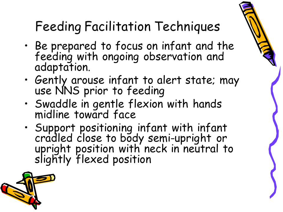 Feeding Facilitation Techniques