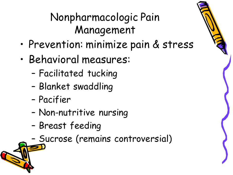 Nonpharmacologic Pain Management