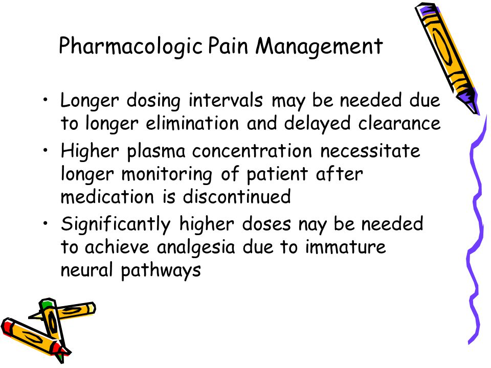 Pharmacologic Pain Management