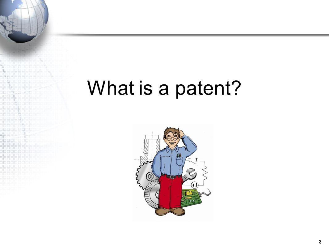 What is a patent Fournier