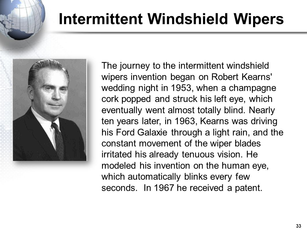 Image result for robert kearns intermittent windshield wiper flash of genius