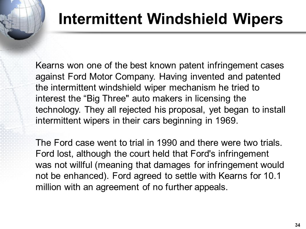 Intermittent Windshield Wipers