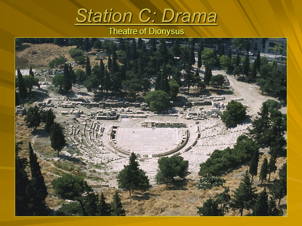 Station C: Drama Theatre of Dionysus