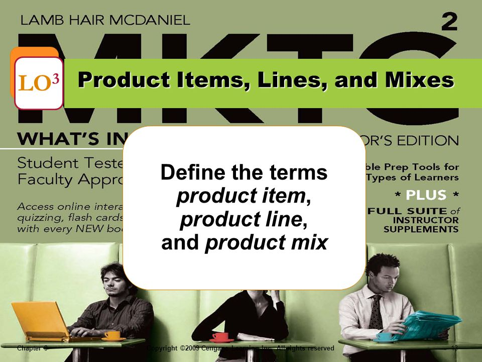 Product Items, Lines, and Mixes