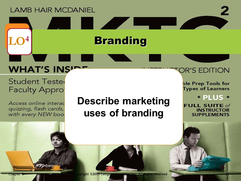 Describe marketing uses of branding