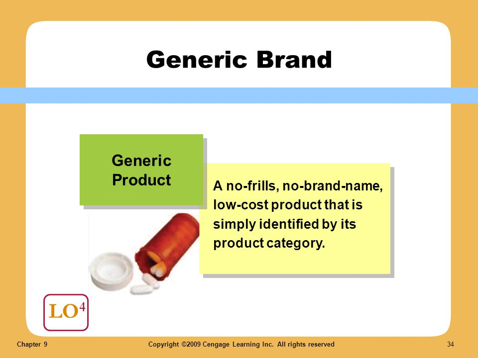 Generic Brand LO4 Generic Product