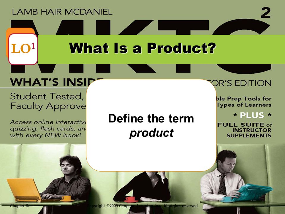 Define the term product