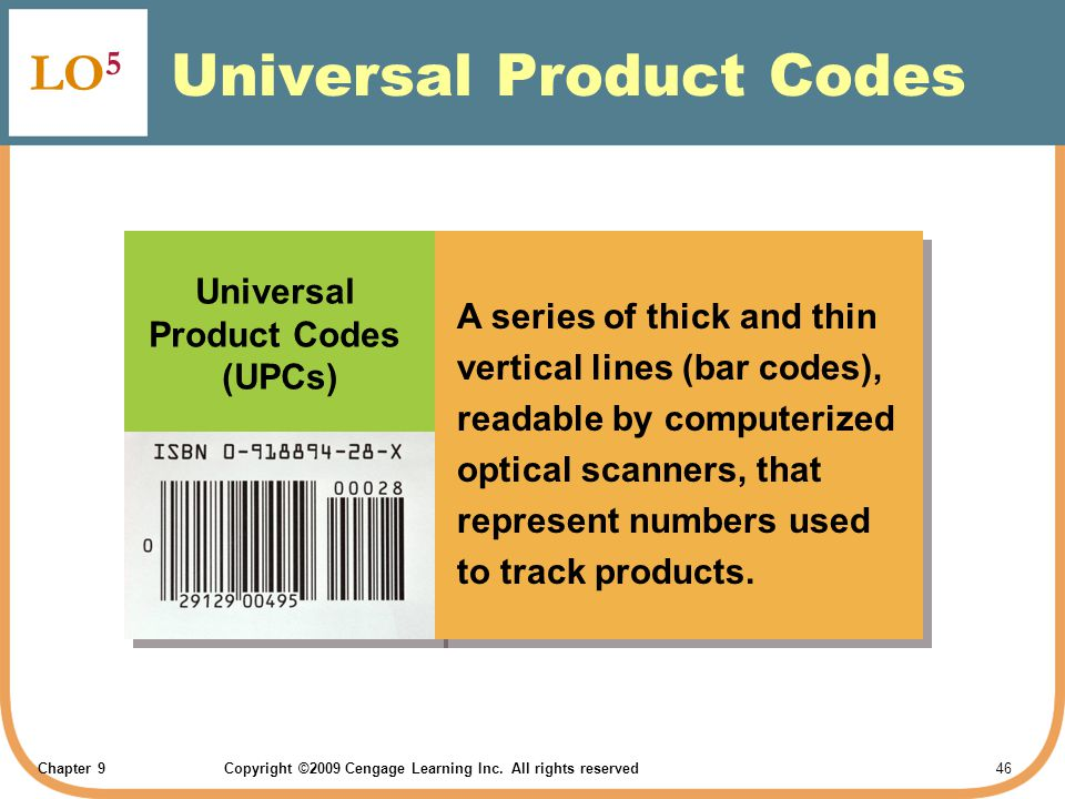 Universal Product Codes