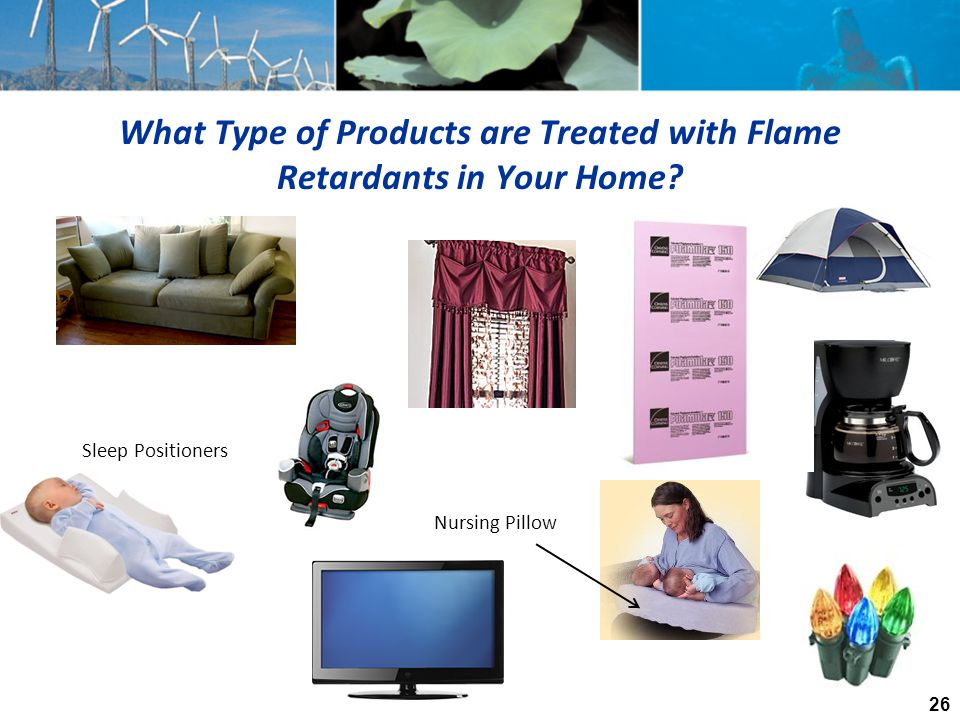 What Type of Products are Treated with Flame Retardants in Your Home