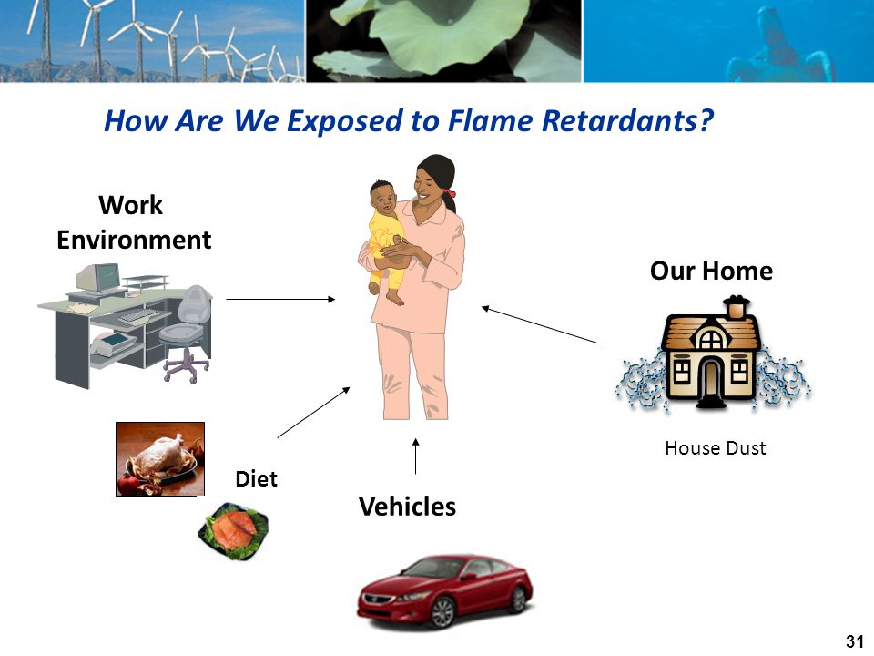 How Are We Exposed to Flame Retardants