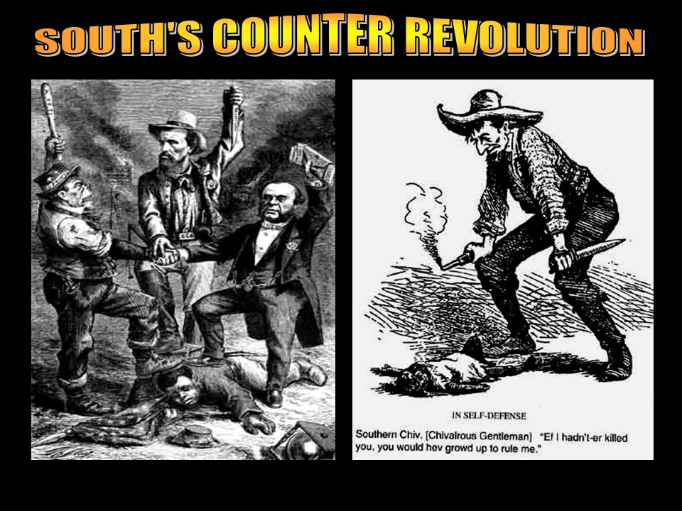 SOUTH S COUNTER REVOLUTION