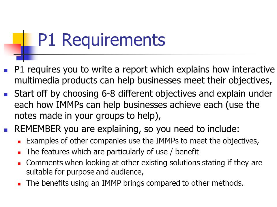4/1/2017 P1 Requirements.
