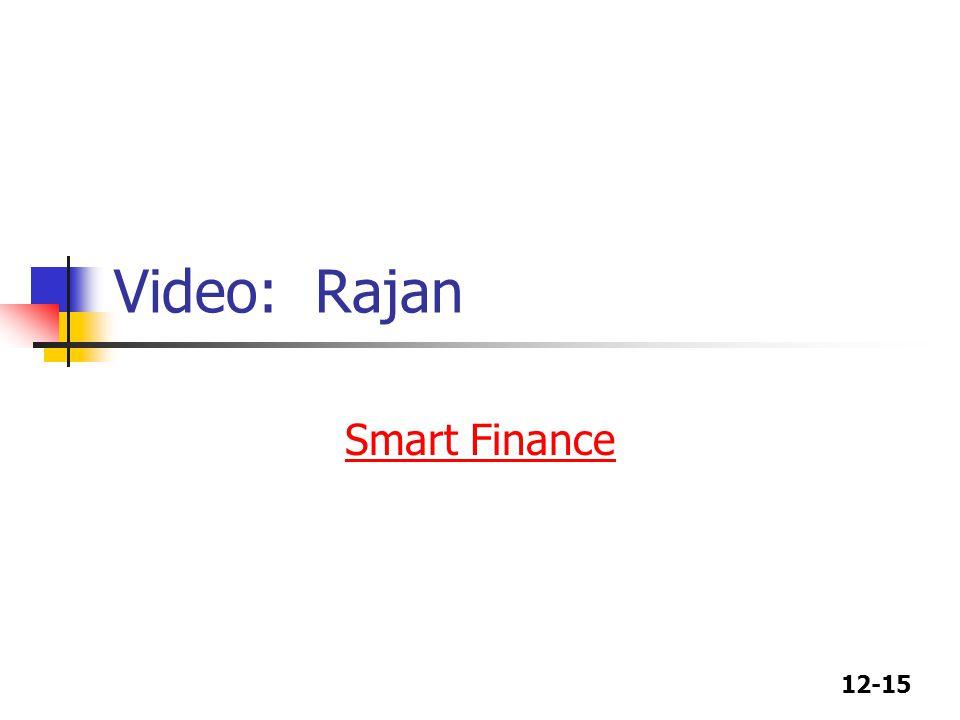 Video: Rajan Smart Finance