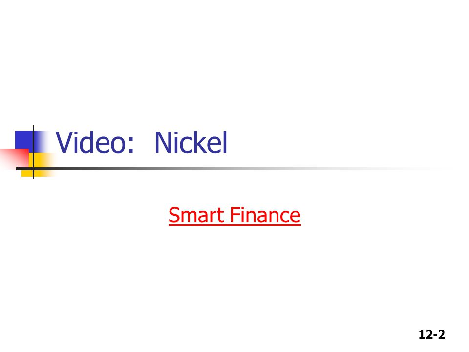 Video: Nickel Smart Finance