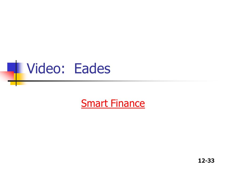 Video: Eades Smart Finance