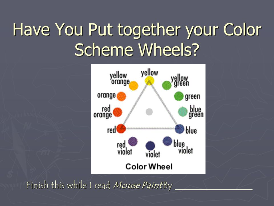 Have You Put together your Color Scheme Wheels