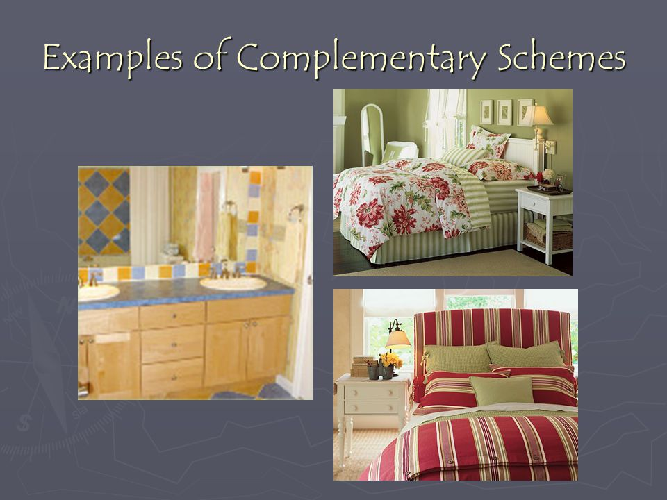 Examples of Complementary Schemes