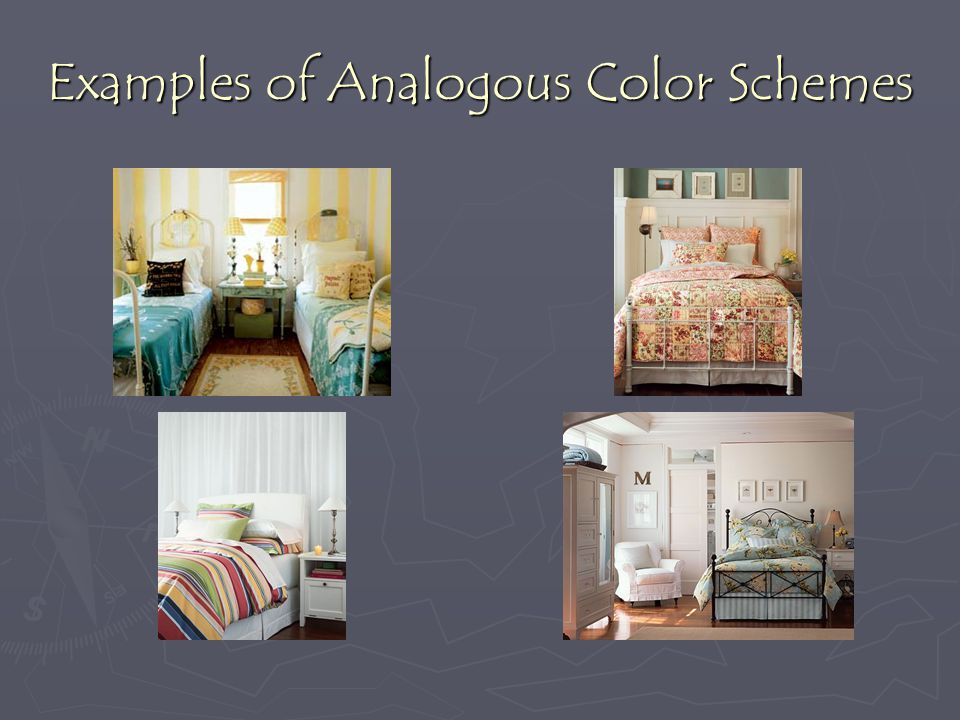 Examples of Analogous Color Schemes