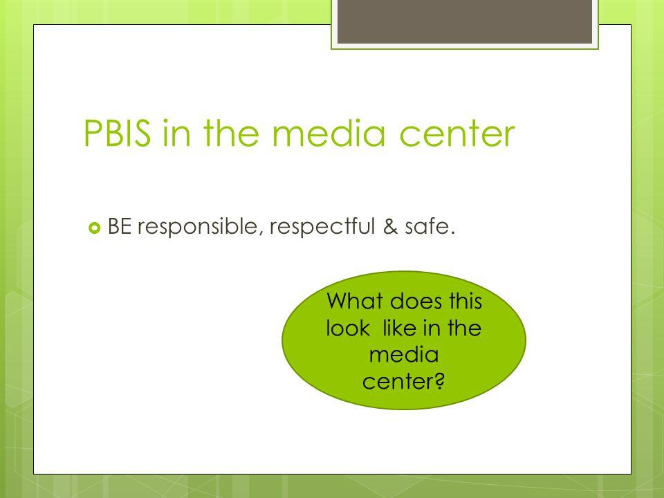 PBIS in the media center