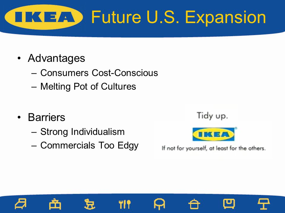 Future U.S. Expansion Advantages Barriers Consumers Cost-Conscious