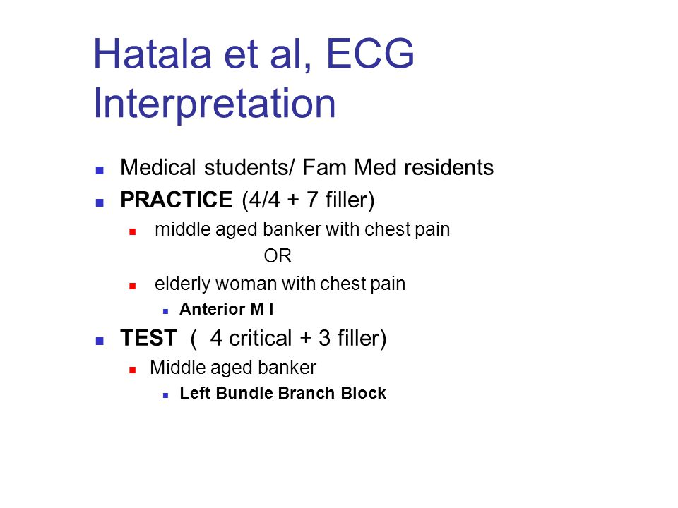 Hatala et al, ECG Interpretation