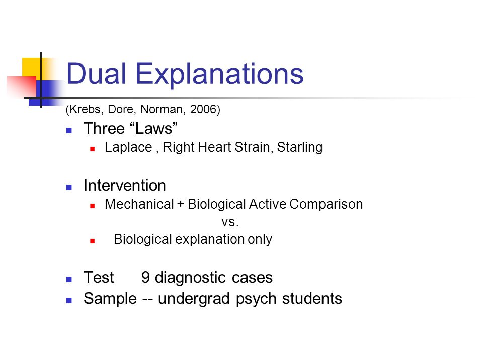 Dual Explanations Three Laws Intervention Test 9 diagnostic cases