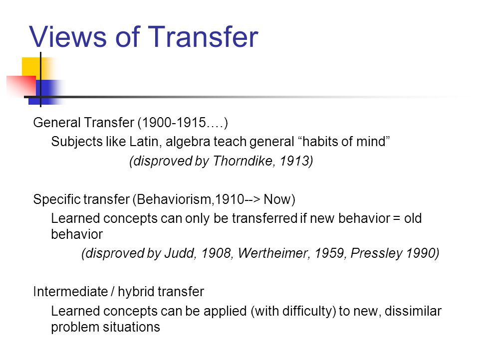 Views of Transfer General Transfer (1900-1915….)