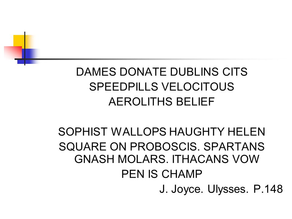 DAMES DONATE DUBLINS CITS SPEEDPILLS VELOCITOUS AEROLITHS BELIEF