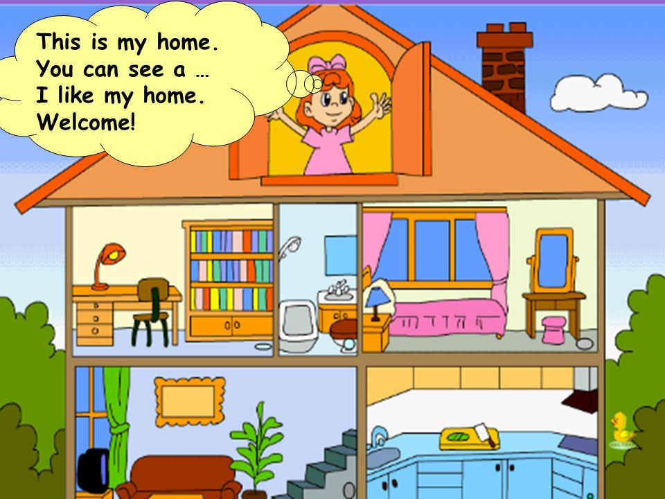 Unit 4 my home ppt video online download for Picture of my home