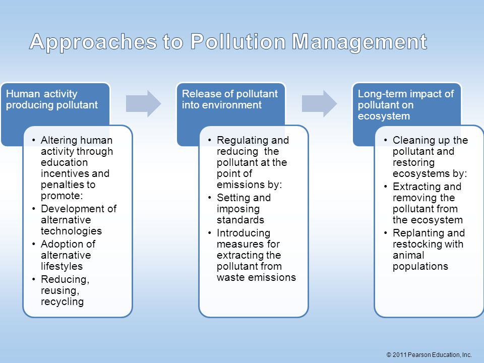 Approaches to Pollution Management
