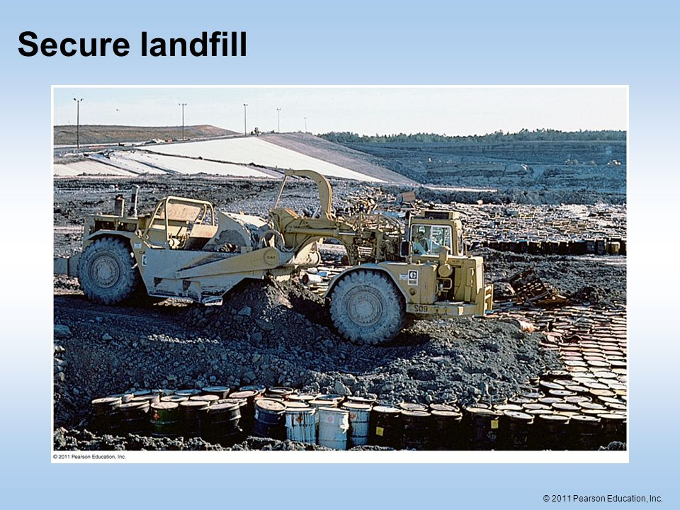 Secure landfill