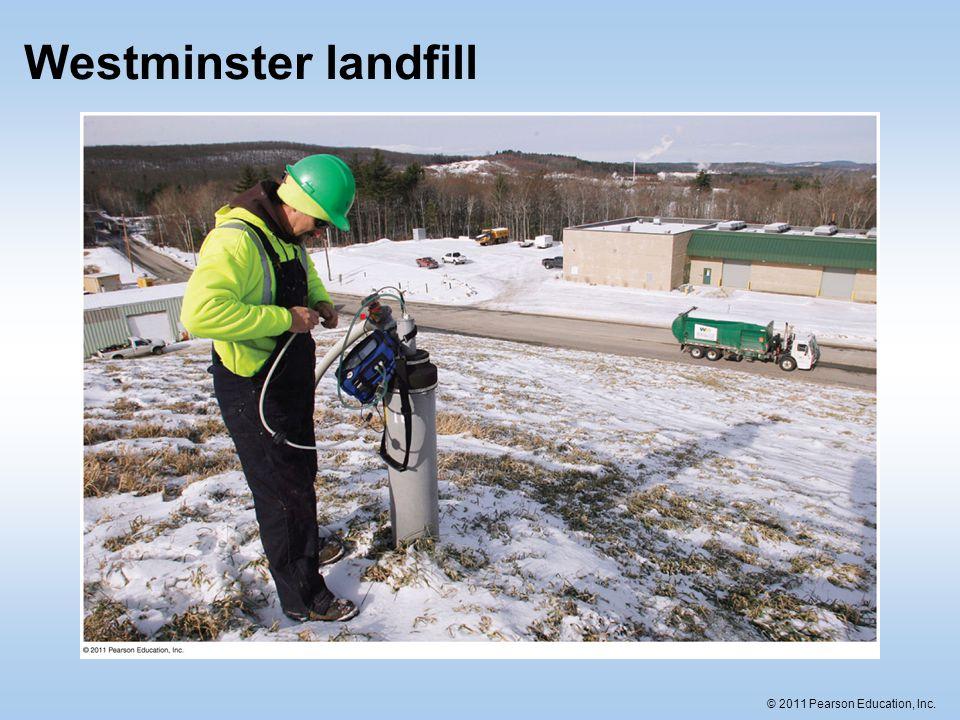 Westminster landfill