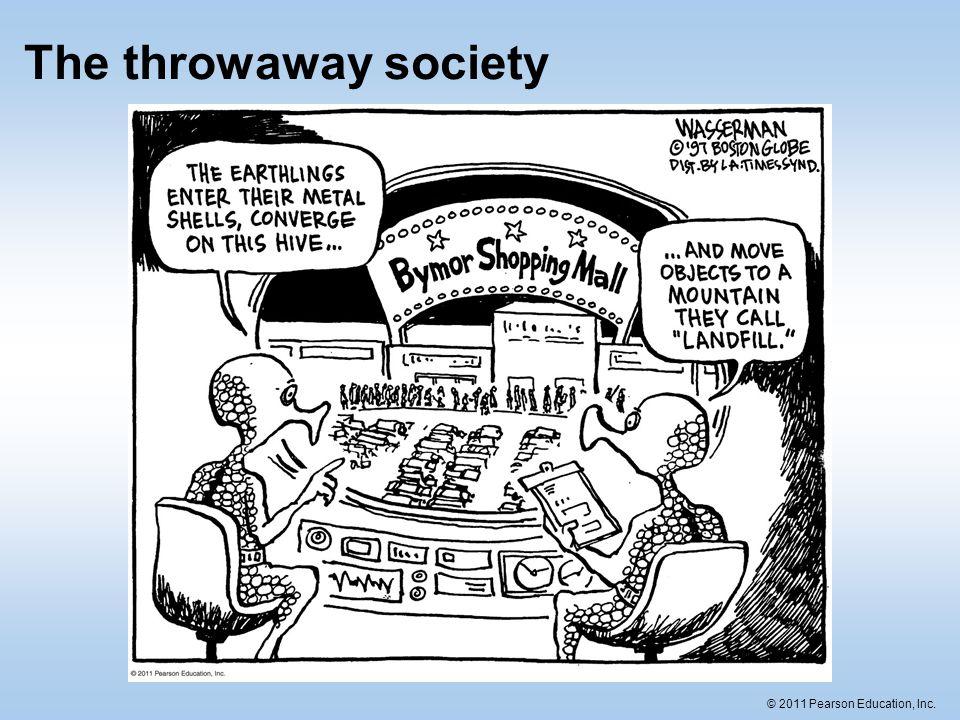 The throwaway society