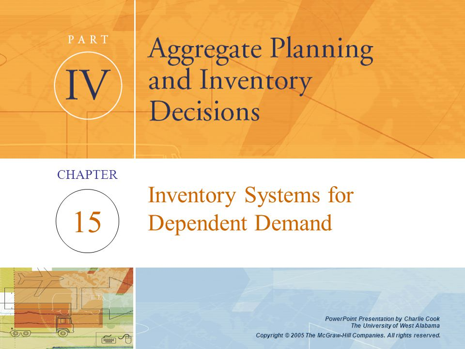 Inventory Systems for Dependent Demand