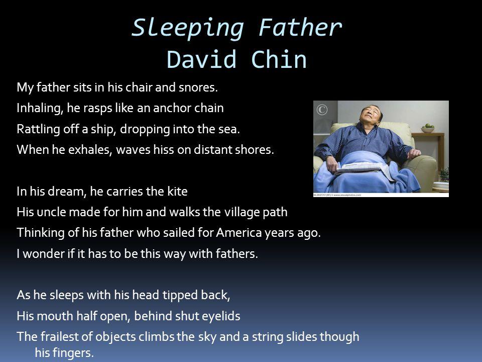 Sleeping Father David Chin