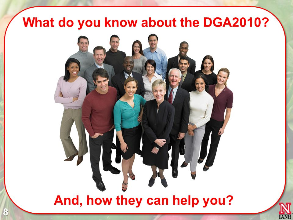 What do you know about the DGA2010 And, how they can help you