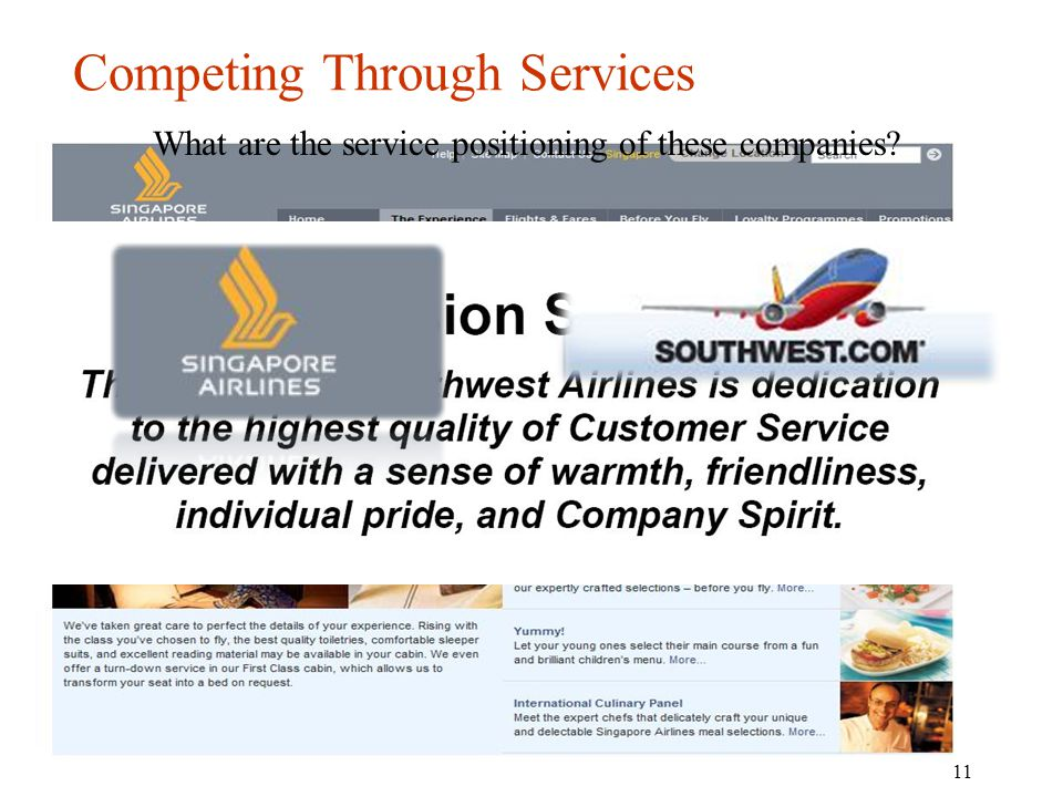Competing Through Services