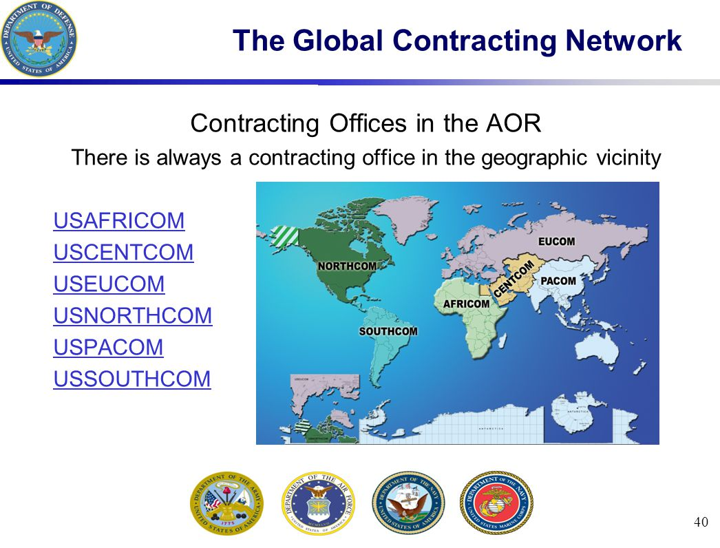 The Global Contracting Network