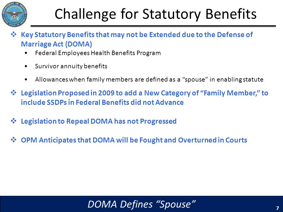 Challenge for Statutory Benefits