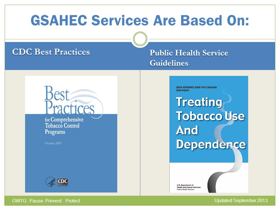 GSAHEC Services Are Based On: