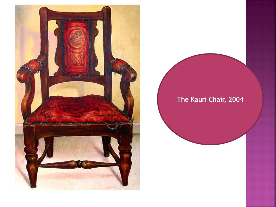 The Kauri Chair, 2004
