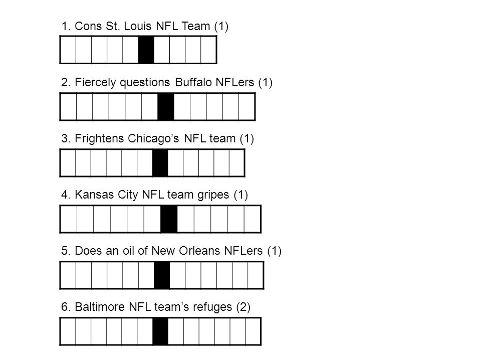 1. Cons St. Louis NFL Team (1)
