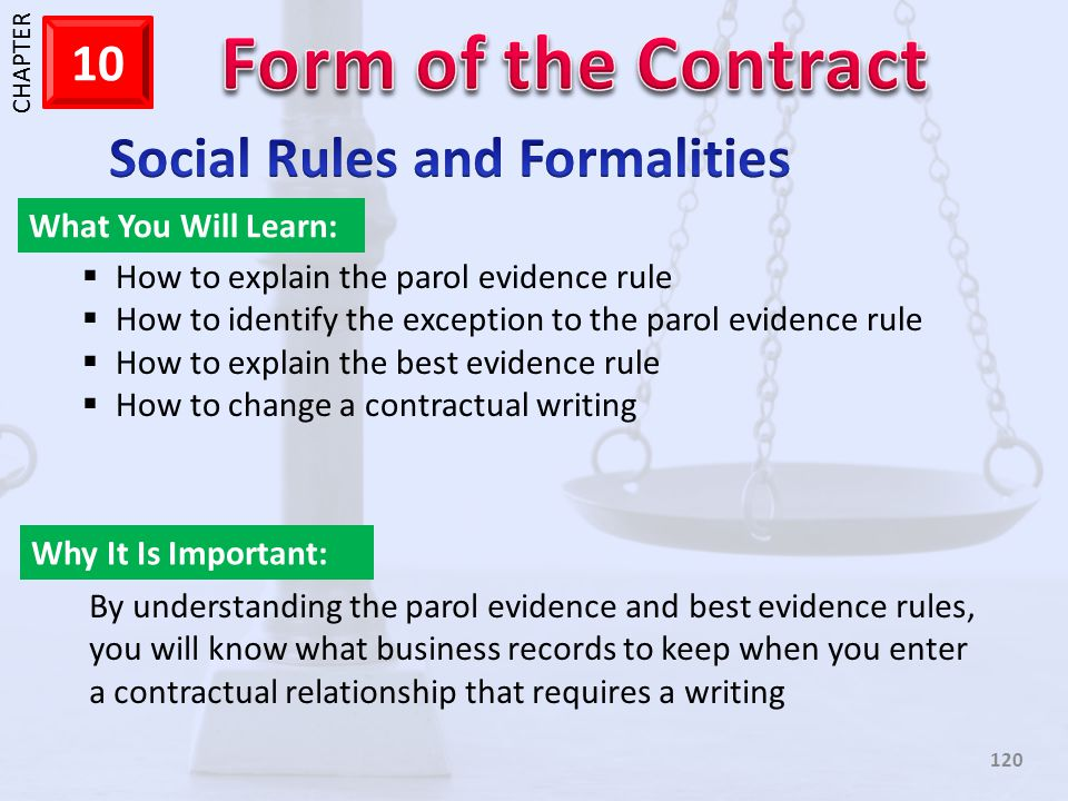Social Rules and Formalities