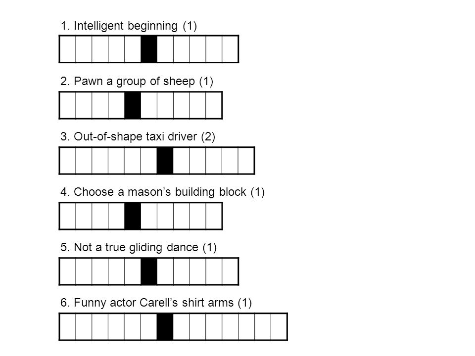 1. Intelligent beginning (1)